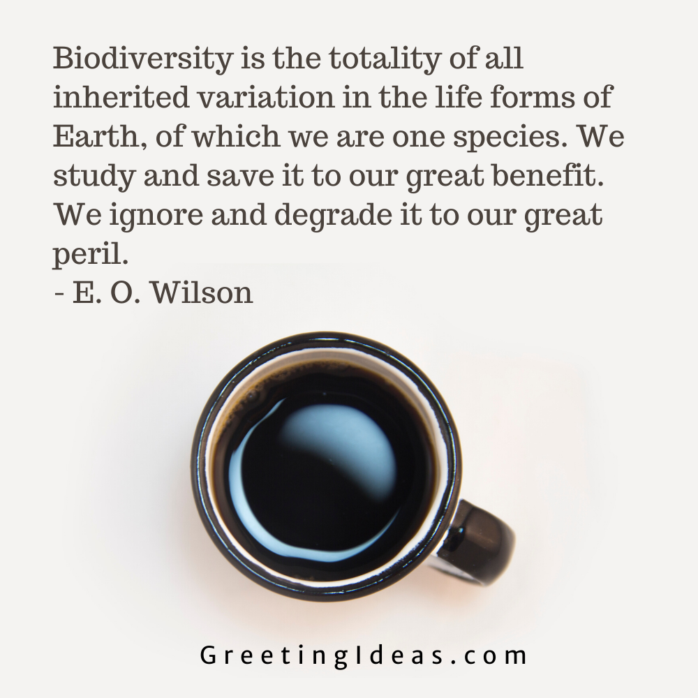 Biodiversity Quotes Greeting Ideas 10