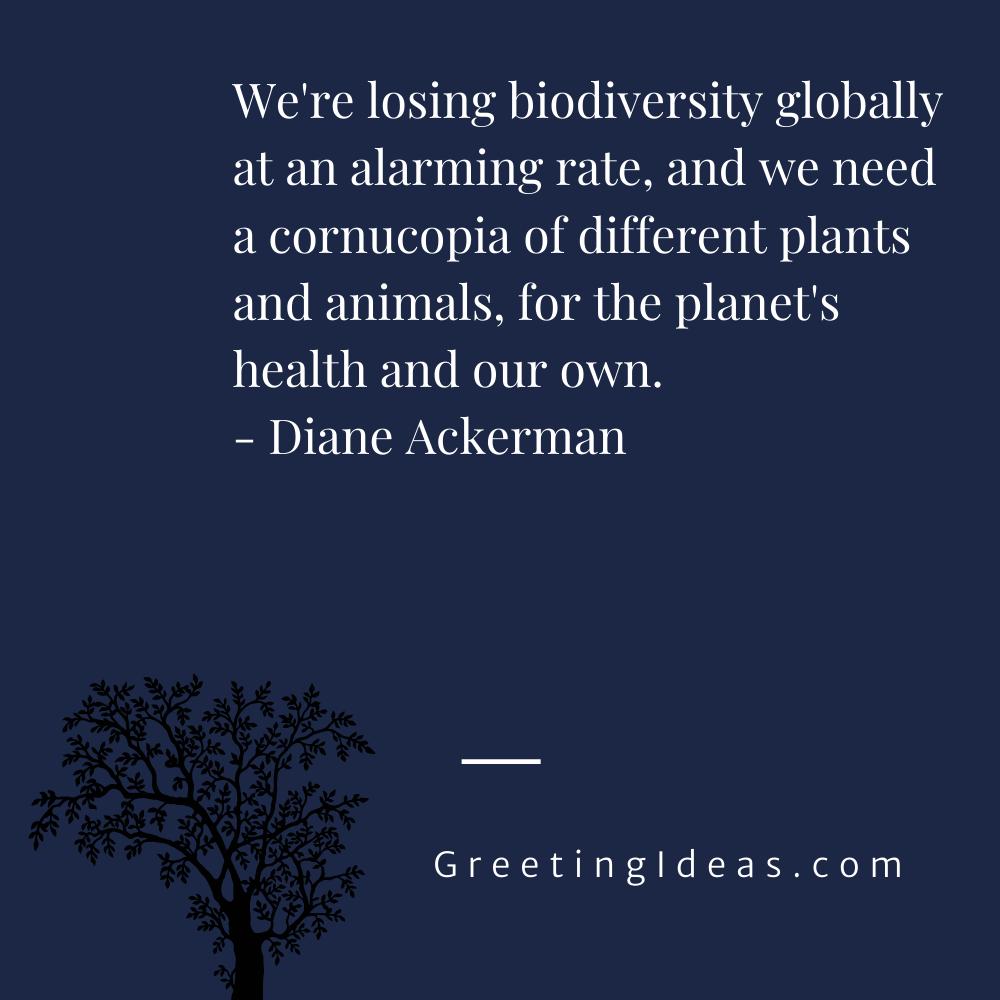 Biodiversity Quotes Greeting Ideas 11