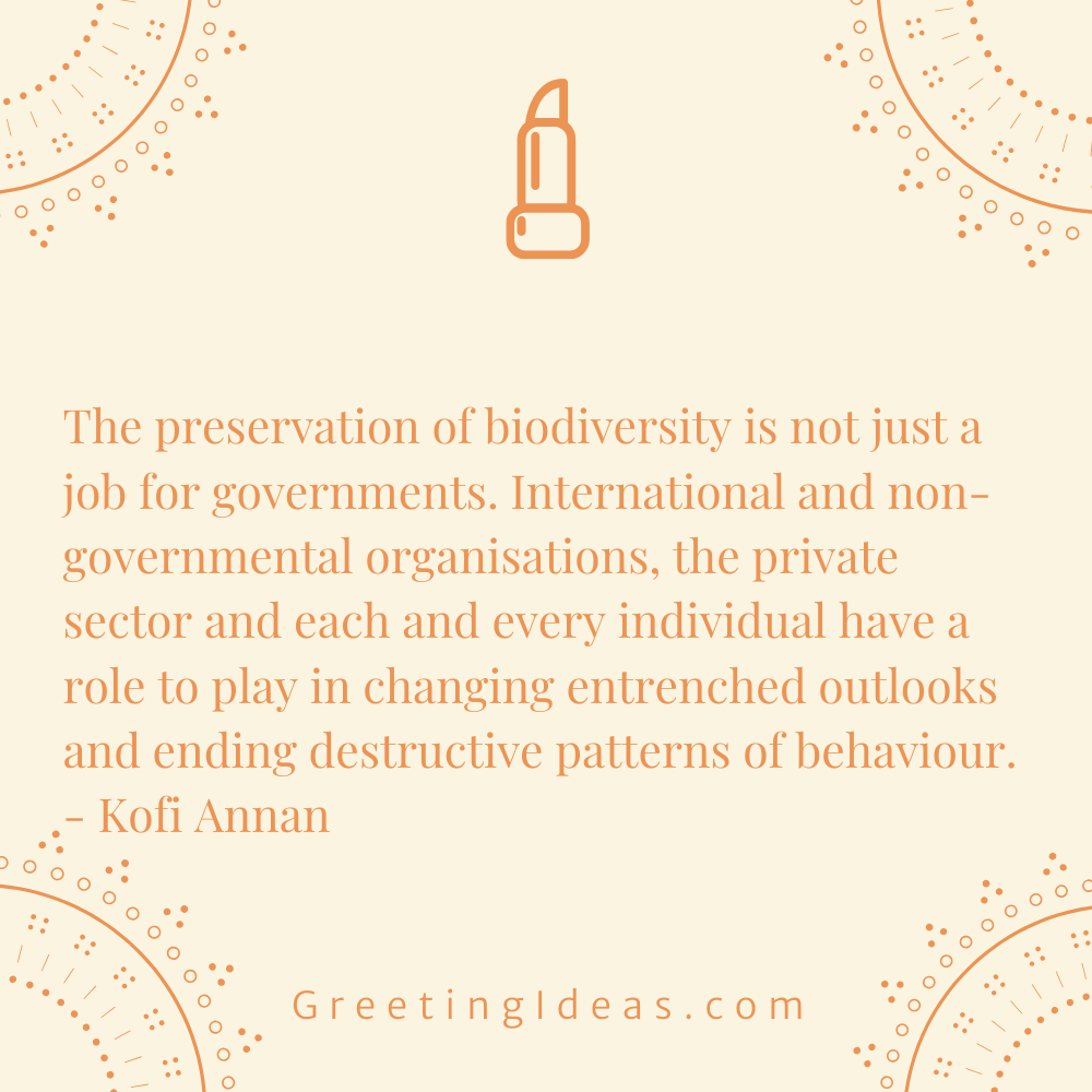 Biodiversity Quotes Greeting Ideas 17