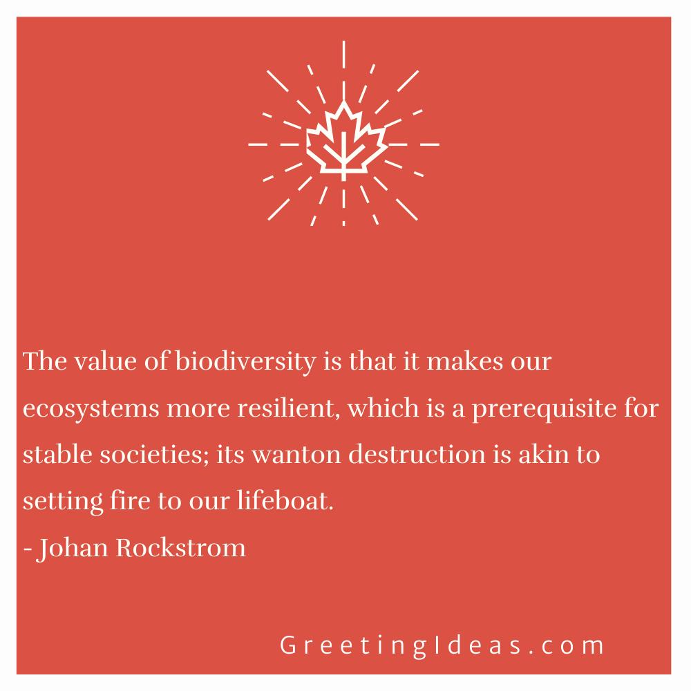Biodiversity Quotes Greeting Ideas 18
