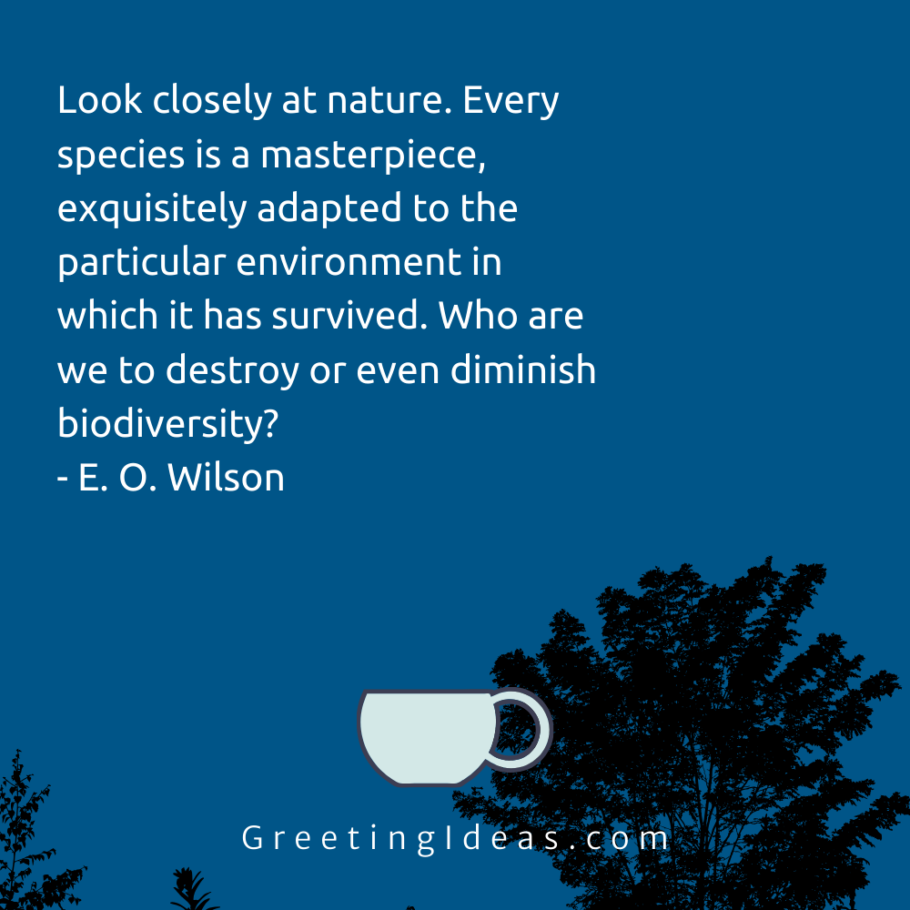 Biodiversity Quotes Greeting Ideas 19
