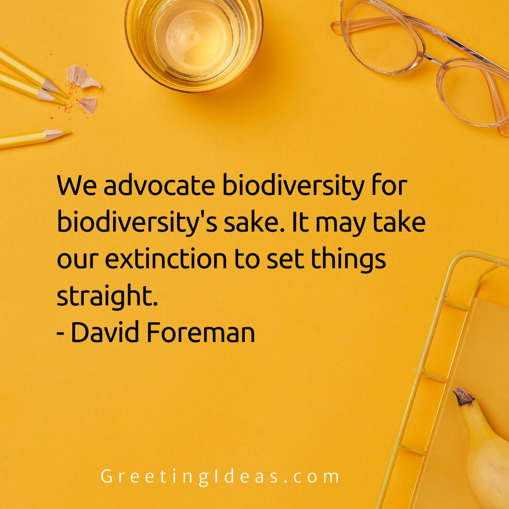 Biodiversity Quotes Greeting Ideas 2