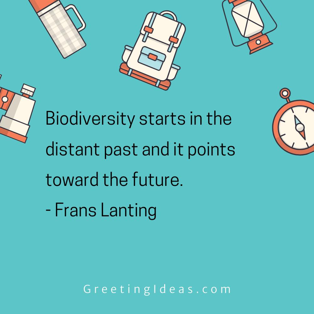 Biodiversity Quotes Greeting Ideas 4