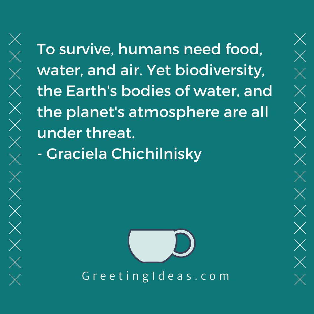 Biodiversity Quotes Greeting Ideas 7