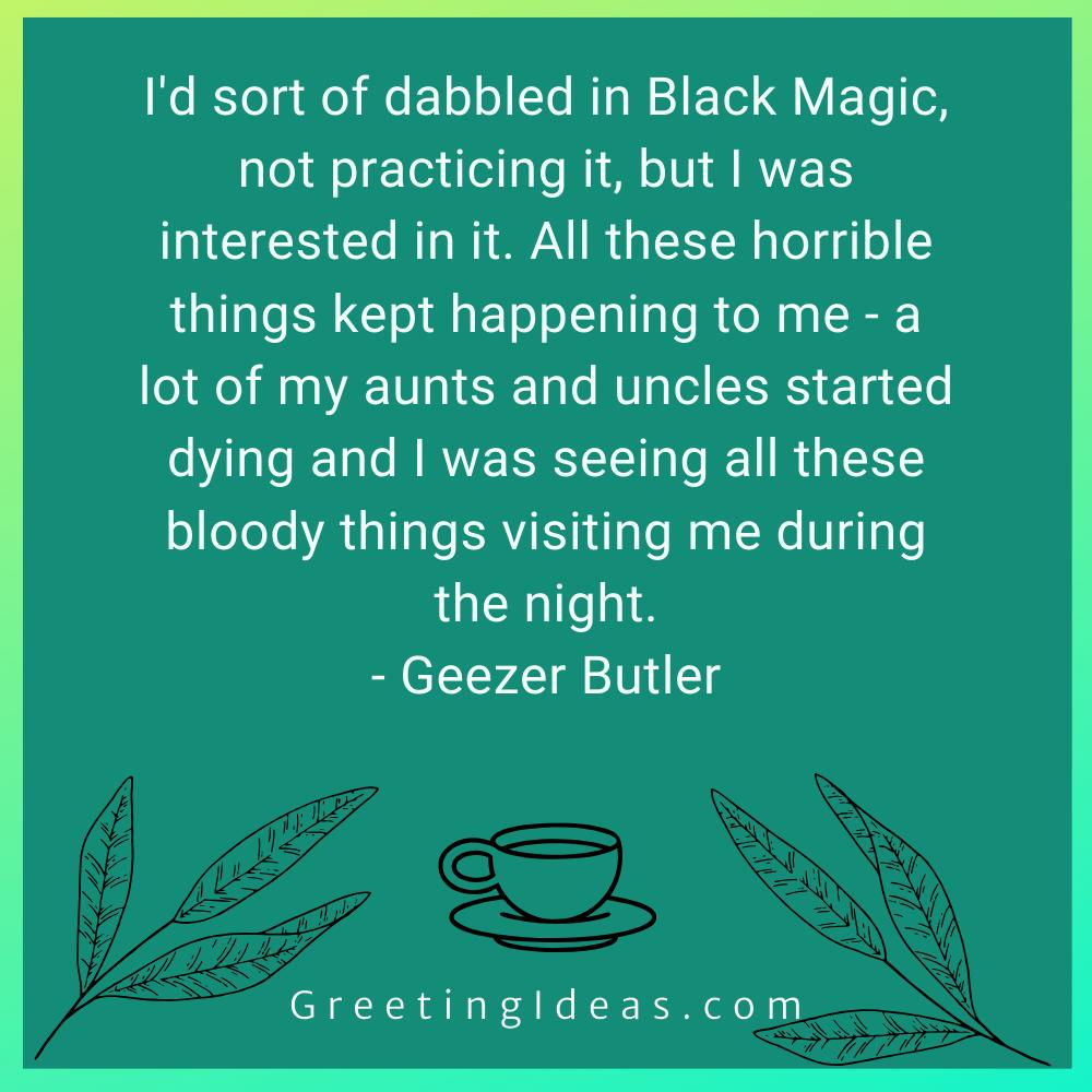 Black Magic Quotes Greeting Ideas 15