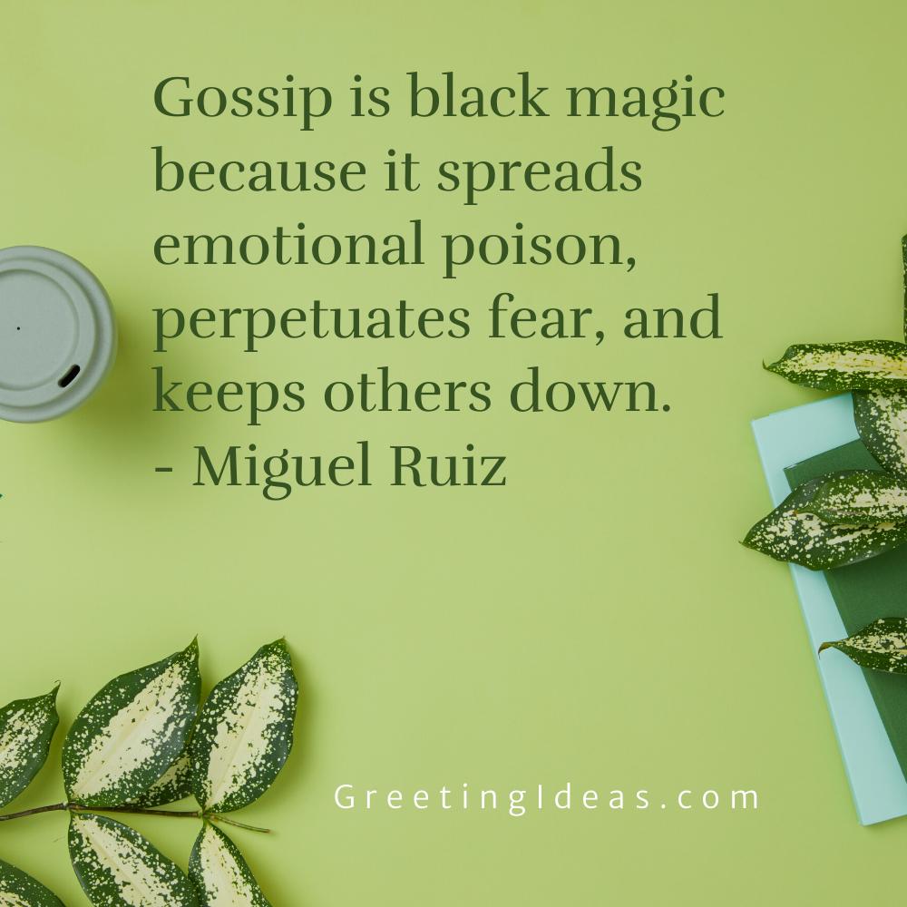 Black Magic Quotes Greeting Ideas 3