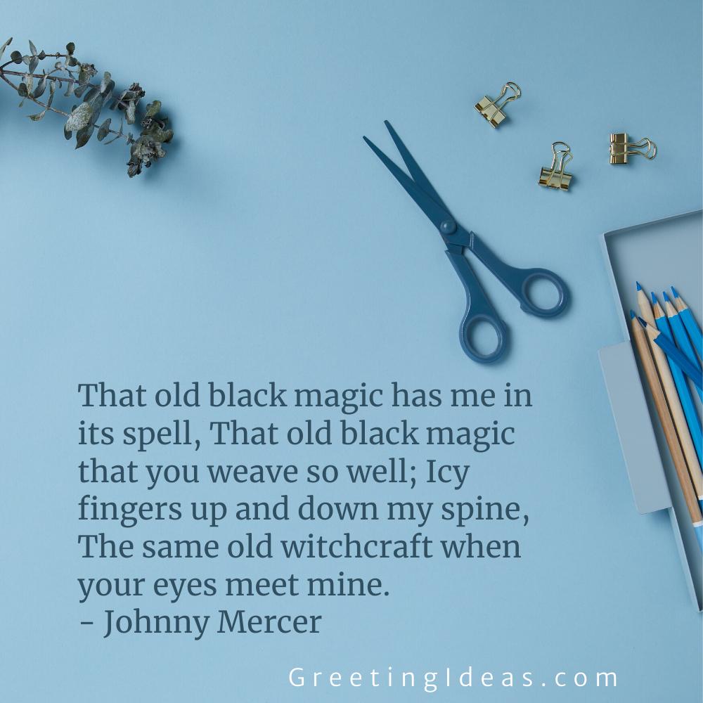 Black Magic Quotes Greeting Ideas 8