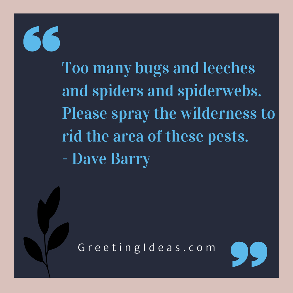 Bug Quotes Greeting Ideas 12