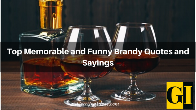 Top Memorable and Funny Brandy Quotes and Sayings