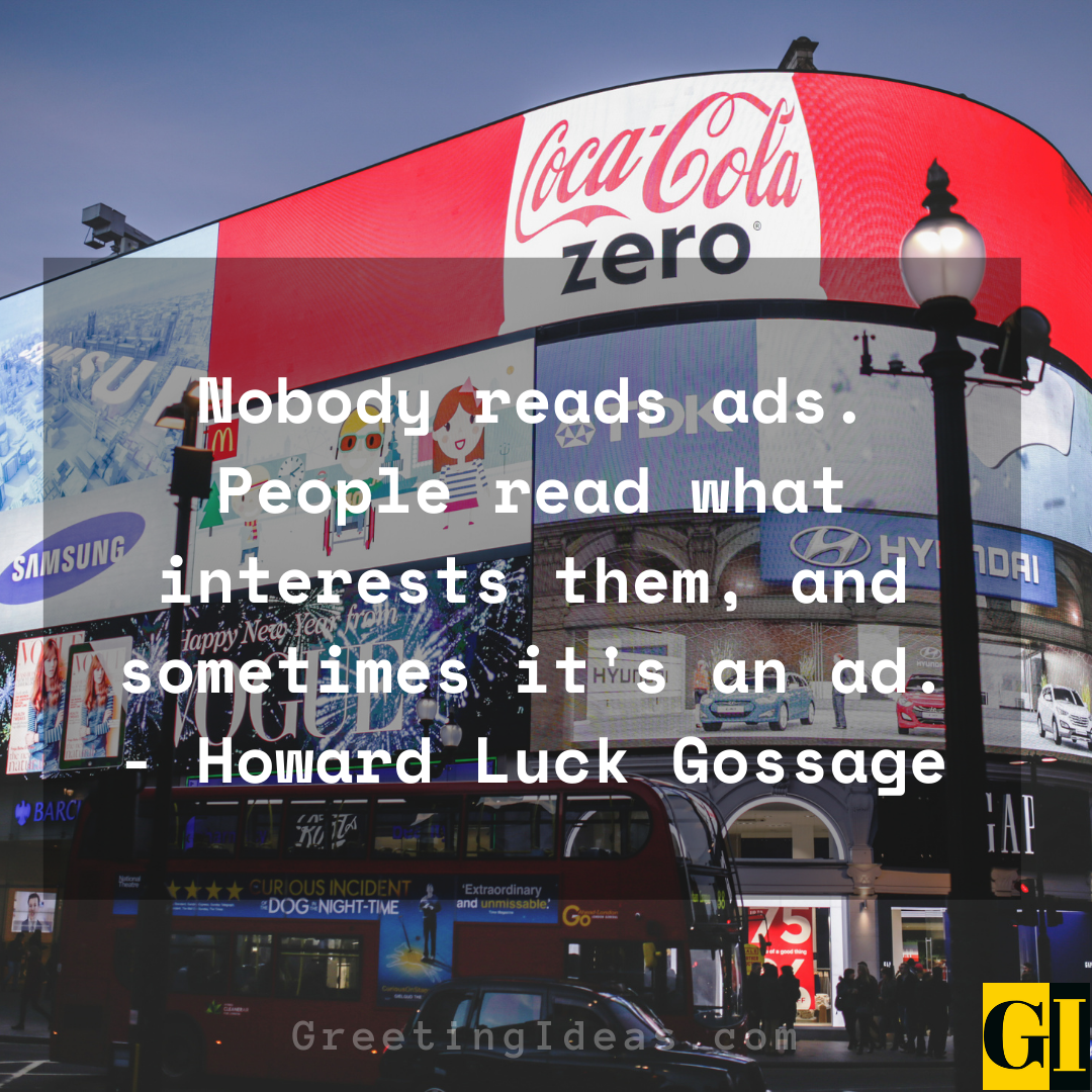 Advertising Quotes Greeting Ideas 2