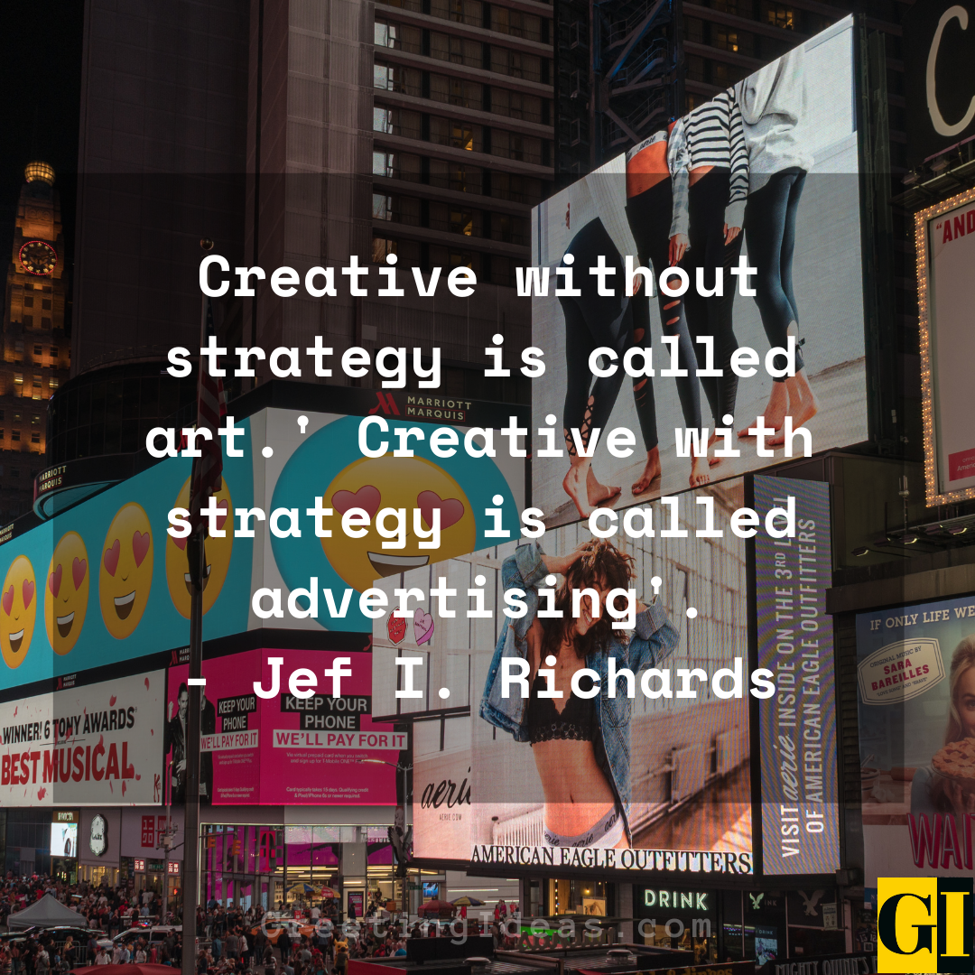 Advertising Quotes Greeting Ideas 4