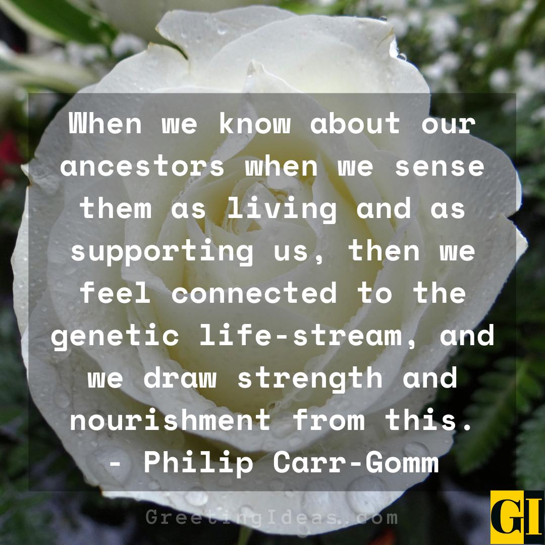 Ancestors Quotes Greeting Ideas 2