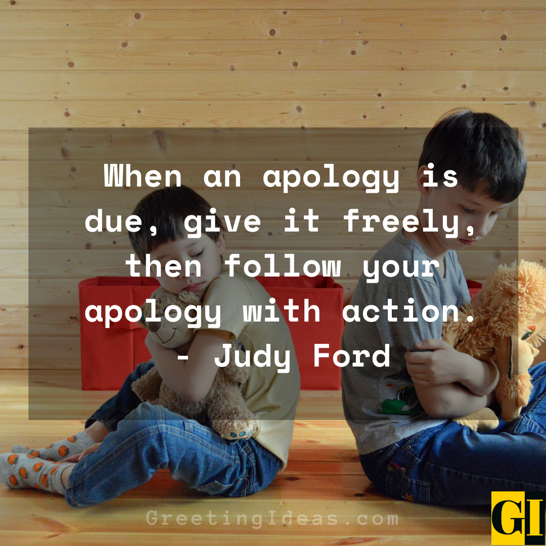Apologizing Quotes Greeting Ideas 2