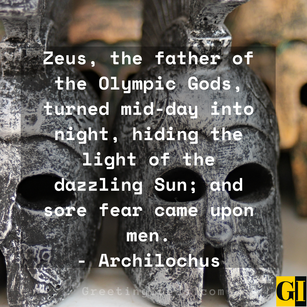 Zeus Quotes Greeting Ideas 4 1