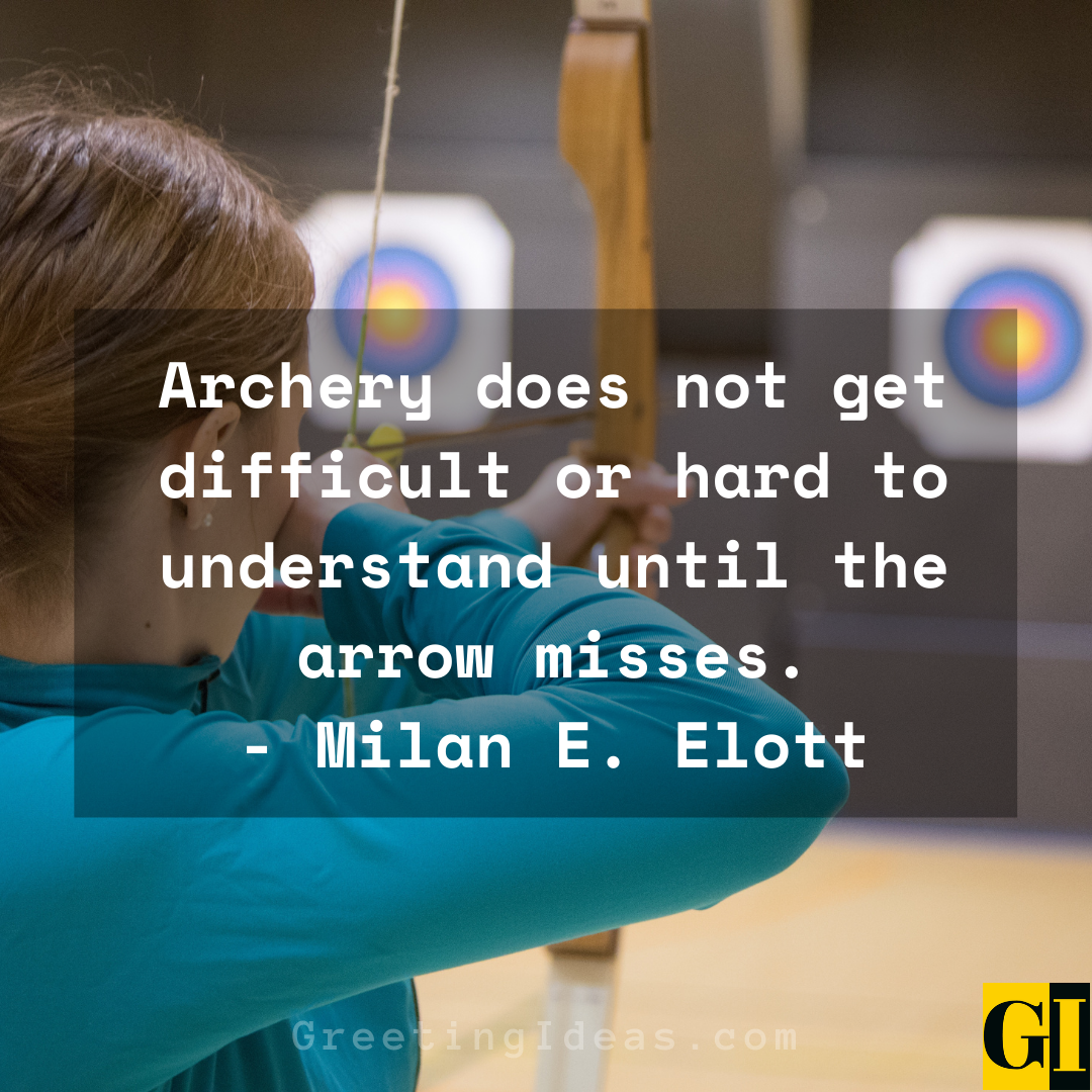Archery Quotes Greeting Ideas 1