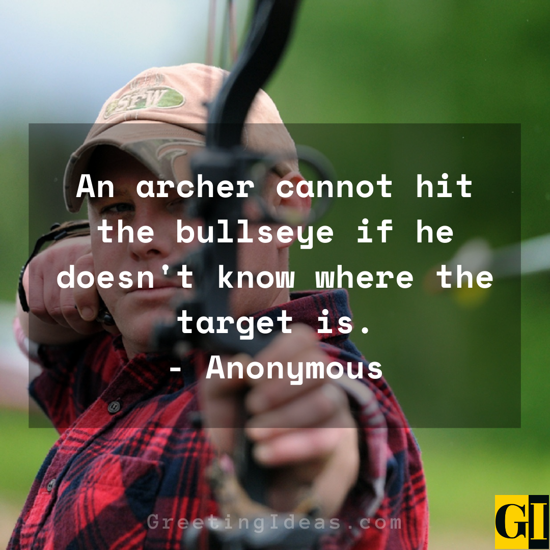 Archery Quotes Greeting Ideas 2