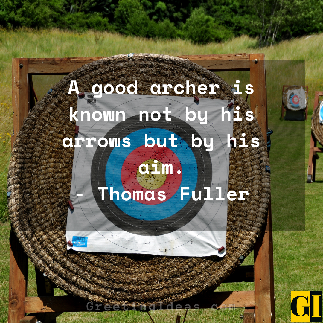 Archery Quotes Greeting Ideas 3