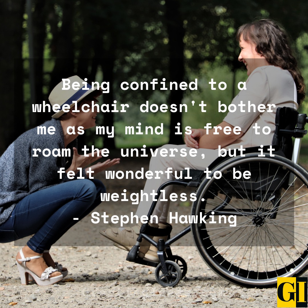 Wheelchair Quotes Greeting Ideas 2