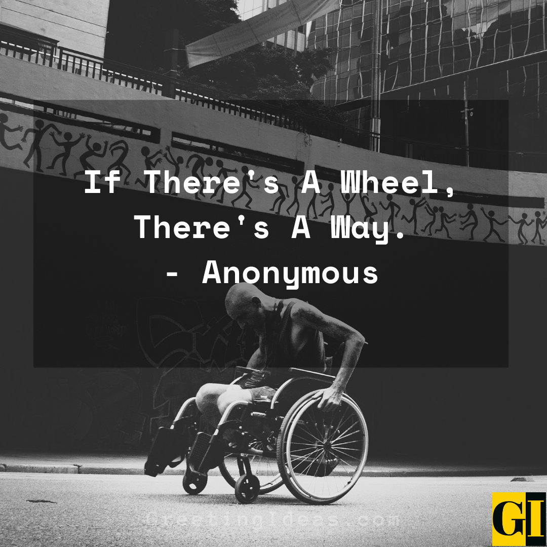 Wheelchair Quotes Greeting Ideas 5