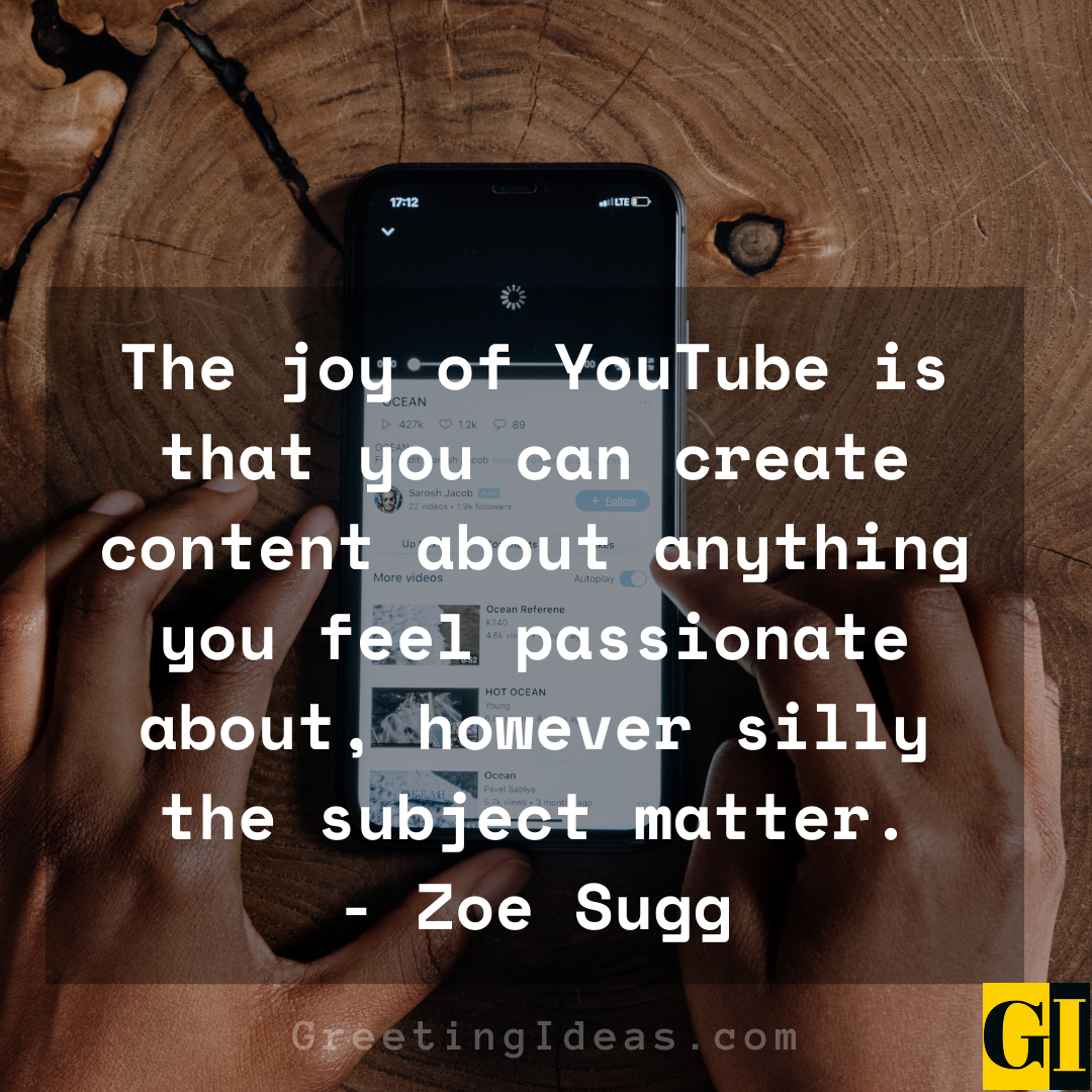 YouTube Quotes Greeting Ideas 2