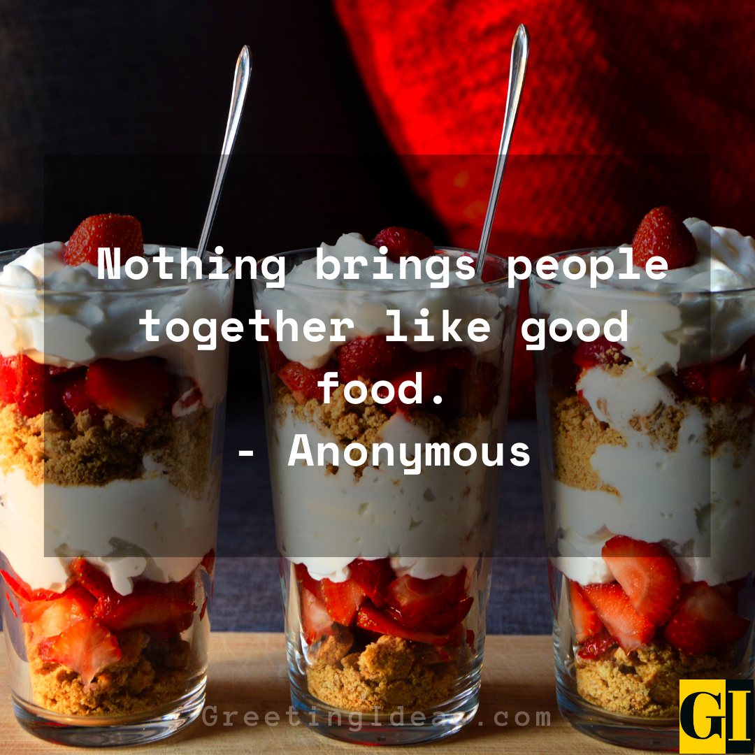 Yummy Quotes Greeting Ideas 1