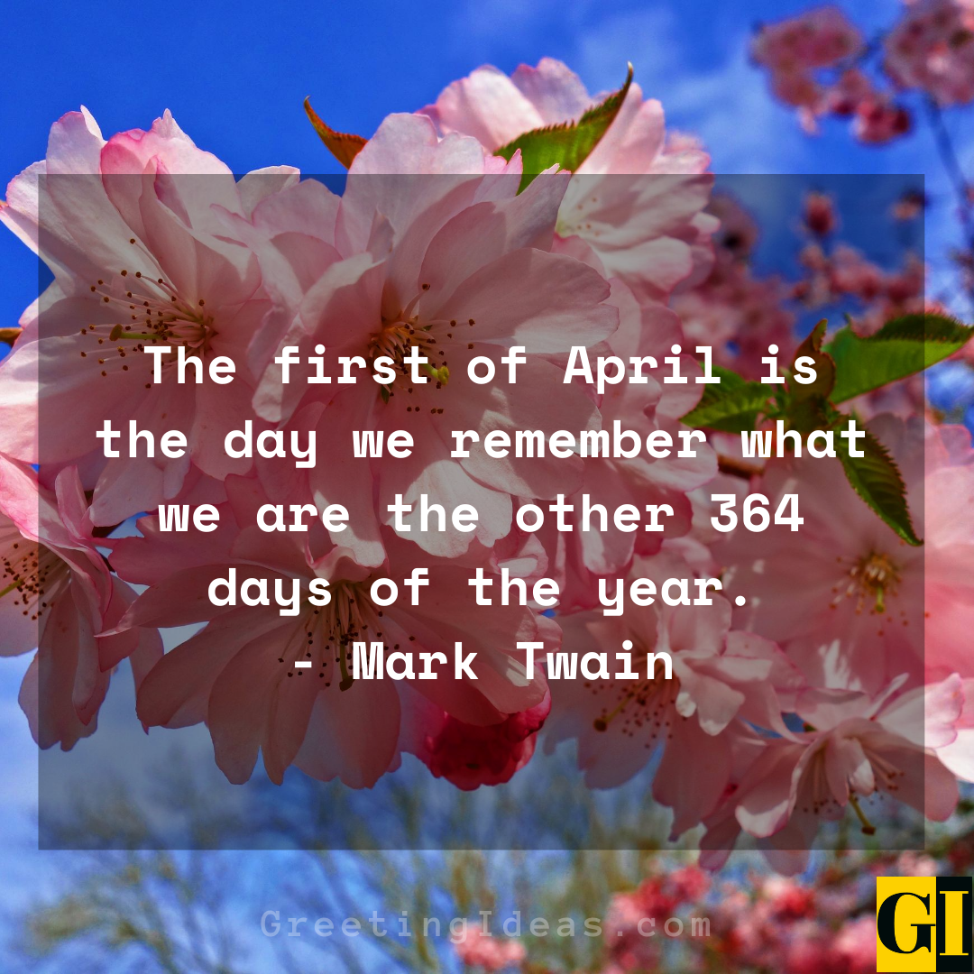 20 Happy and Welcome April Quotes and Sayings 4