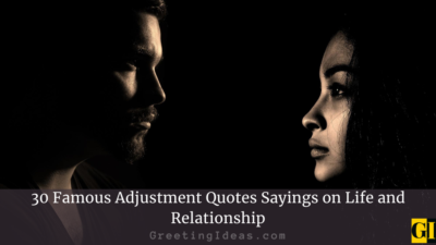 30 Famous Adjustment Quotes Sayings on Life and Relationship