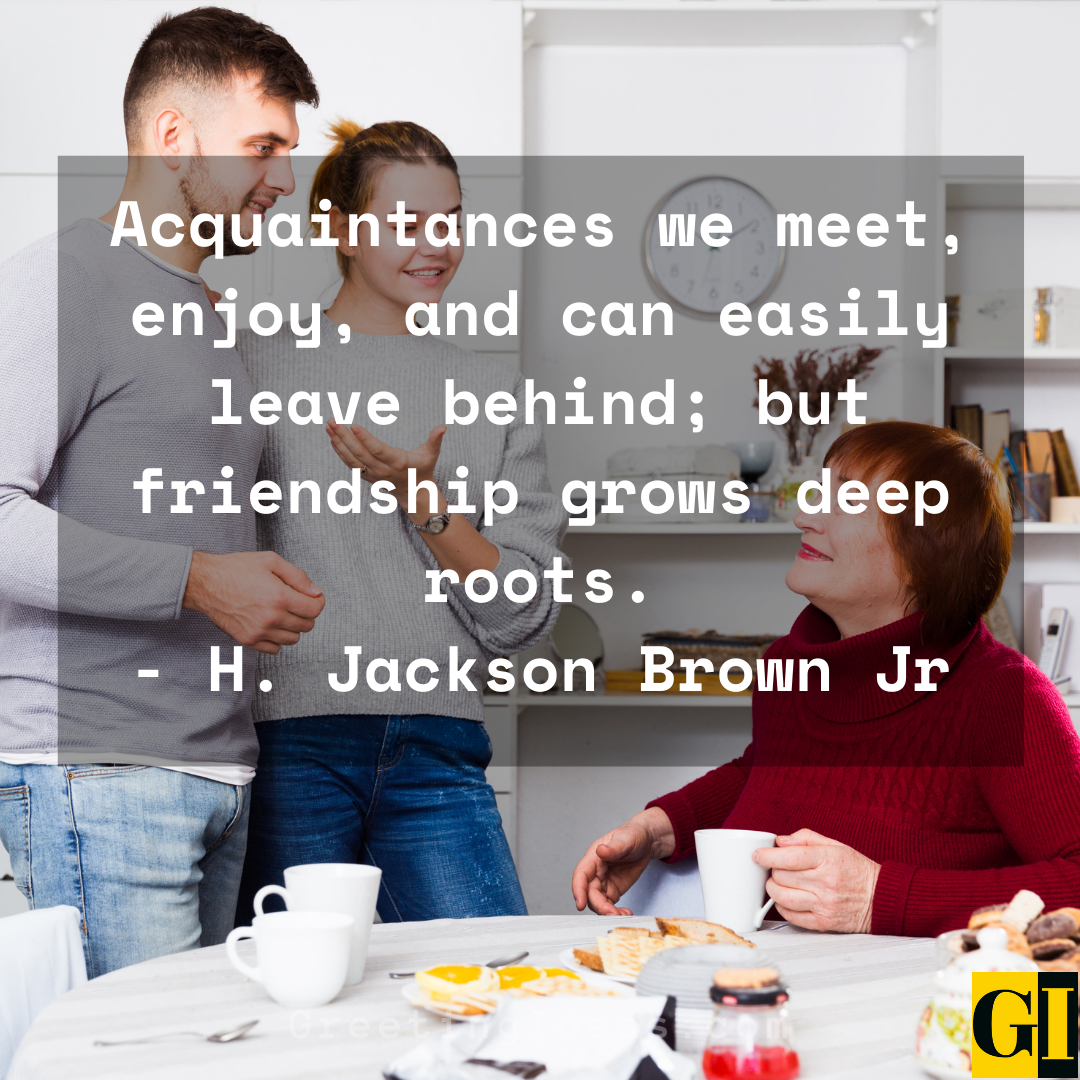 Acquaintance Quotes Greeting Ideas 2