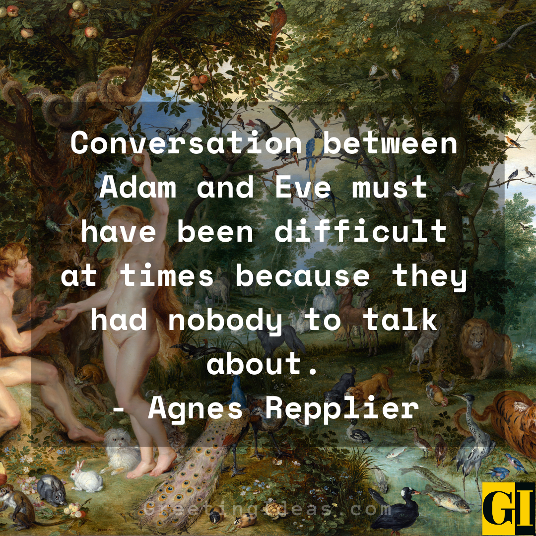 Adam and Eve Quotes Greeting Ideas 1