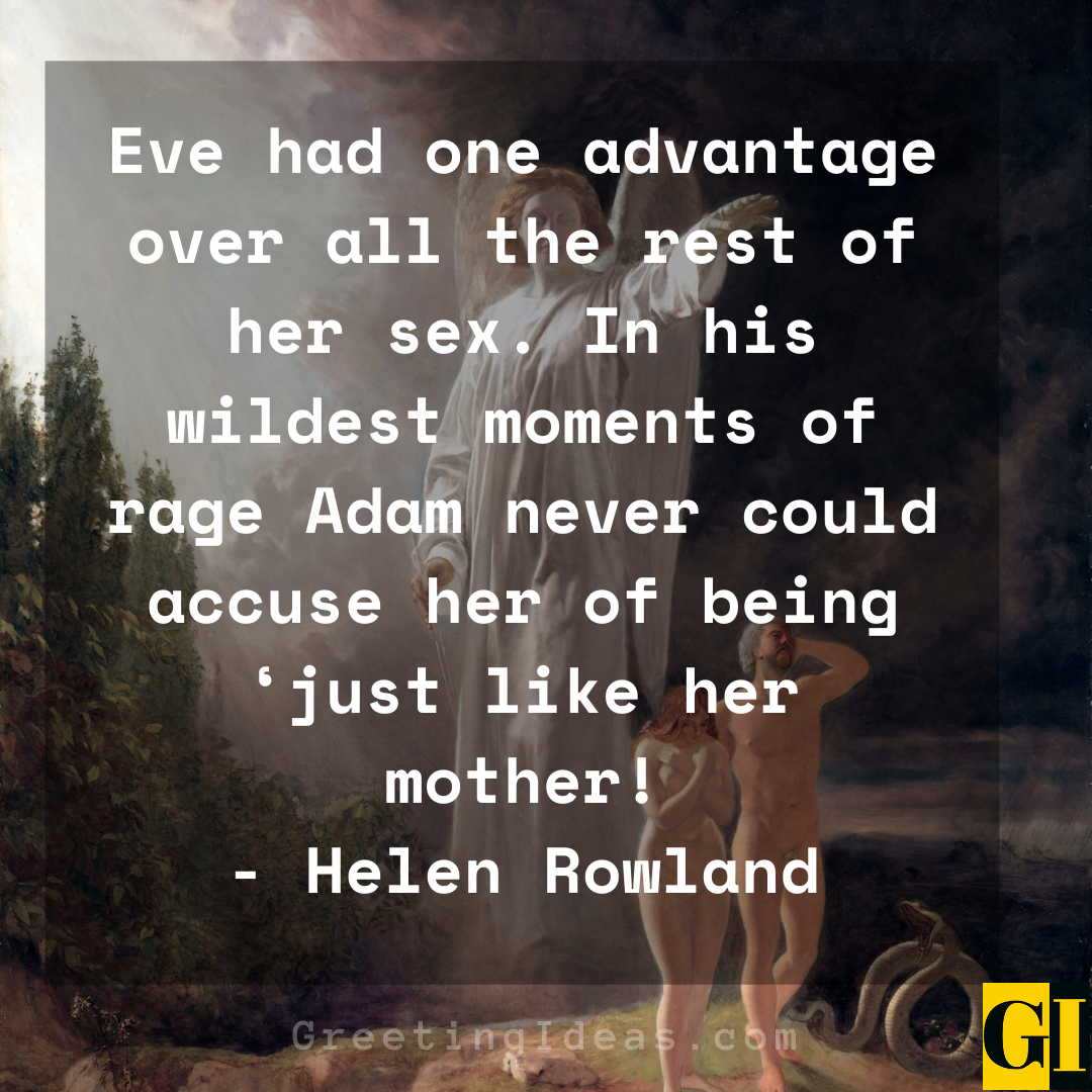 Adam and Eve Quotes Greeting Ideas 4