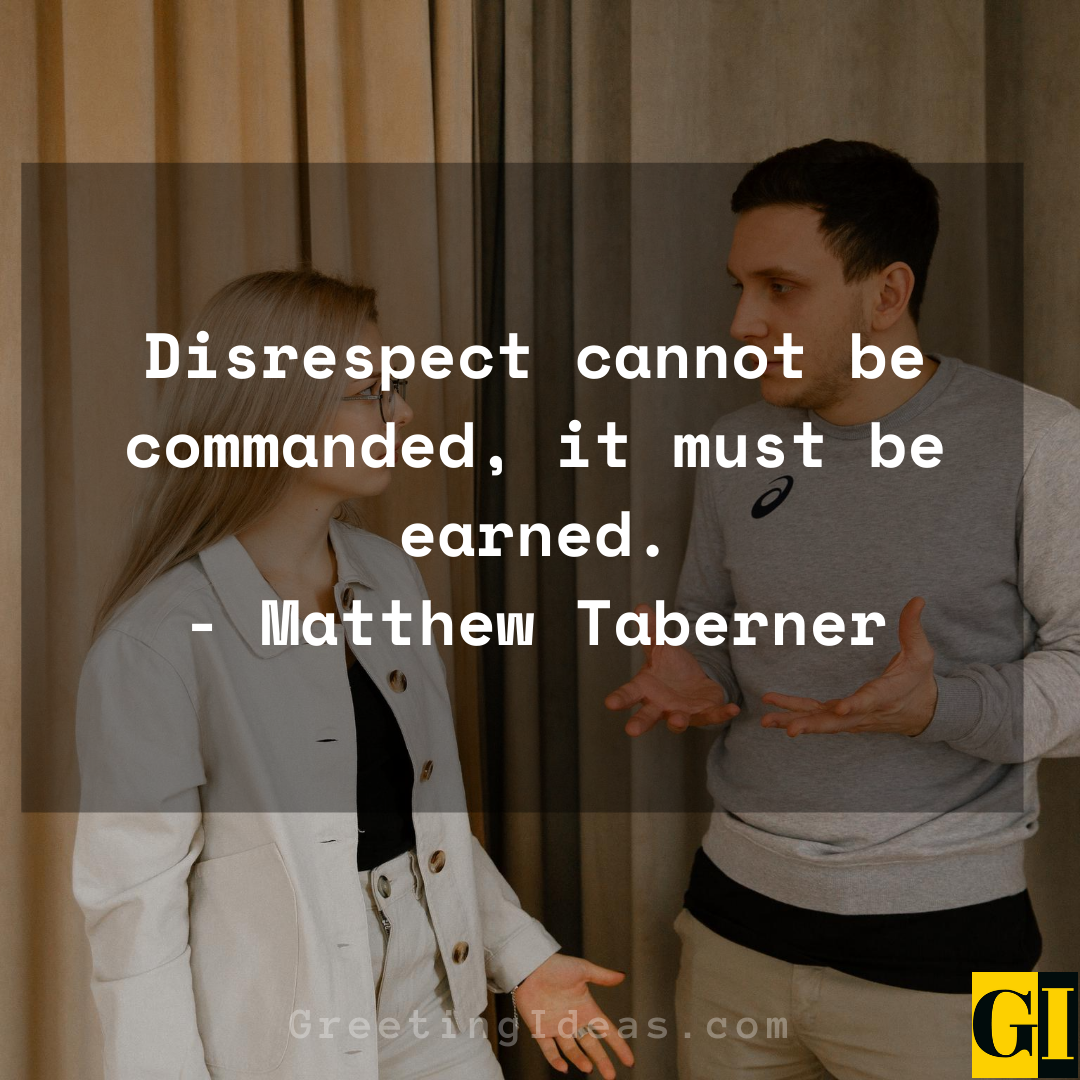Disrespect Quotes Greeting Ideas 3