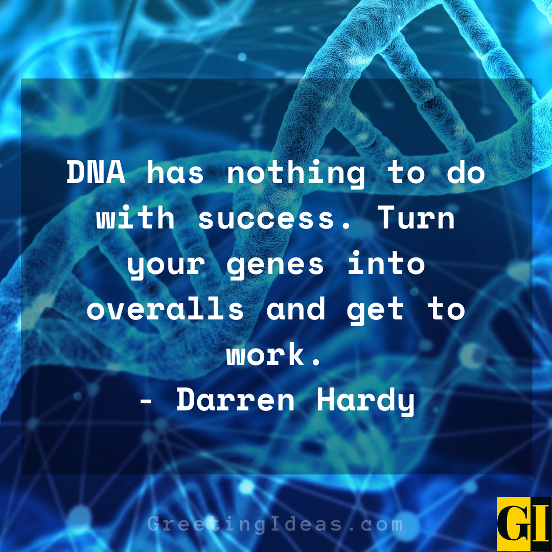 DNA Quotes Greeting Ideas 1