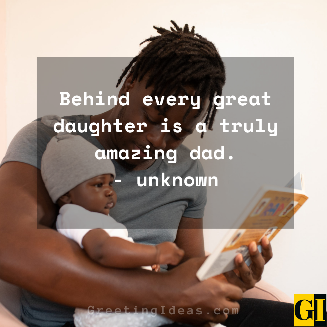 Dad and Daughter Quotes Greeting Ideas 6