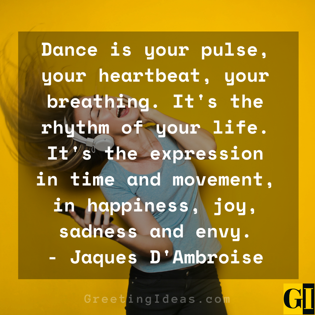 Dancing Quotes Greeting Ideas 1