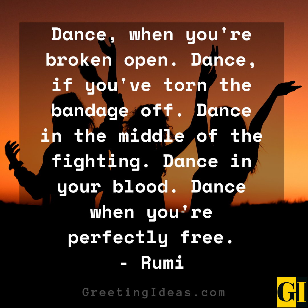 Dancing Quotes Greeting Ideas 2