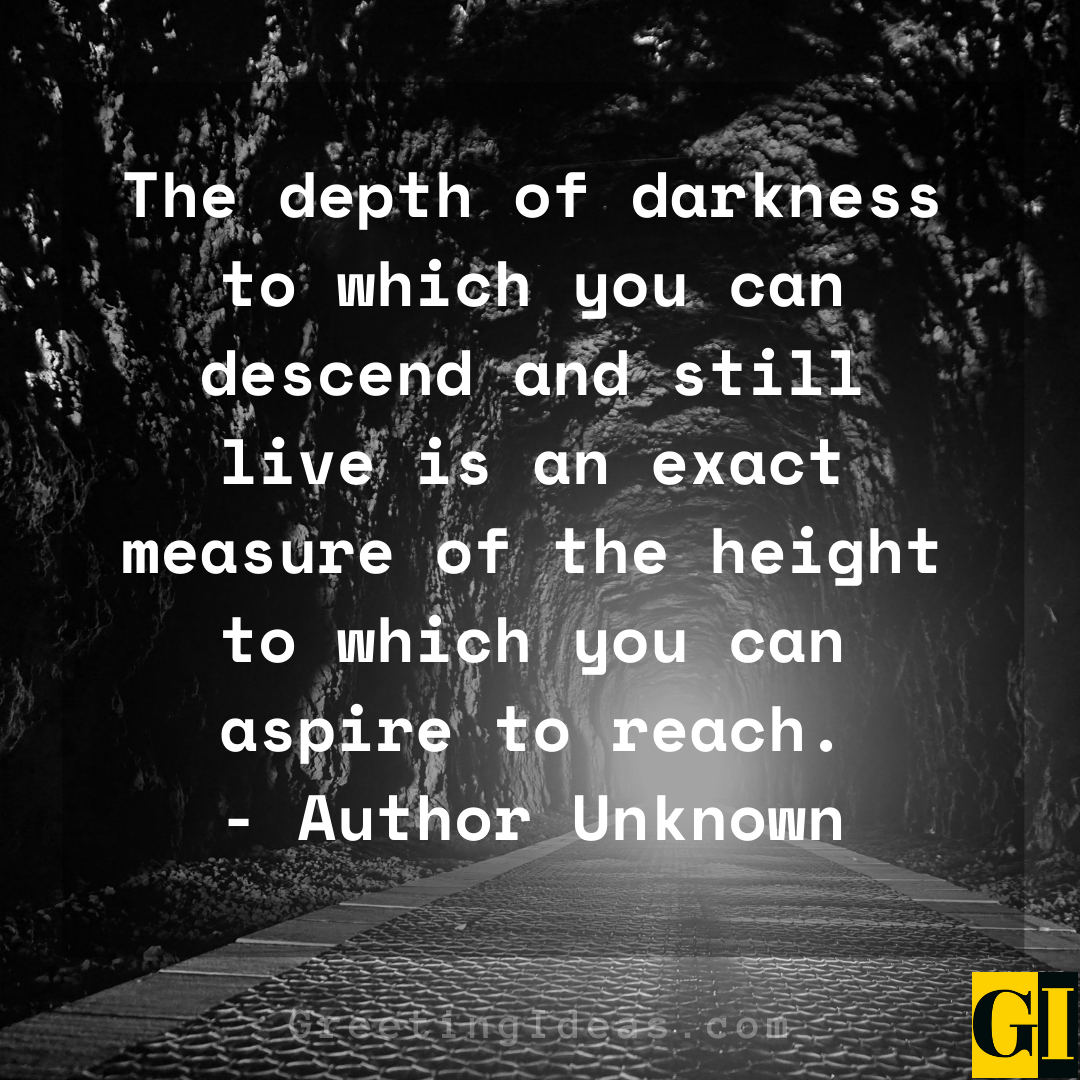 Darkness Quotes Greeting Ideas 1