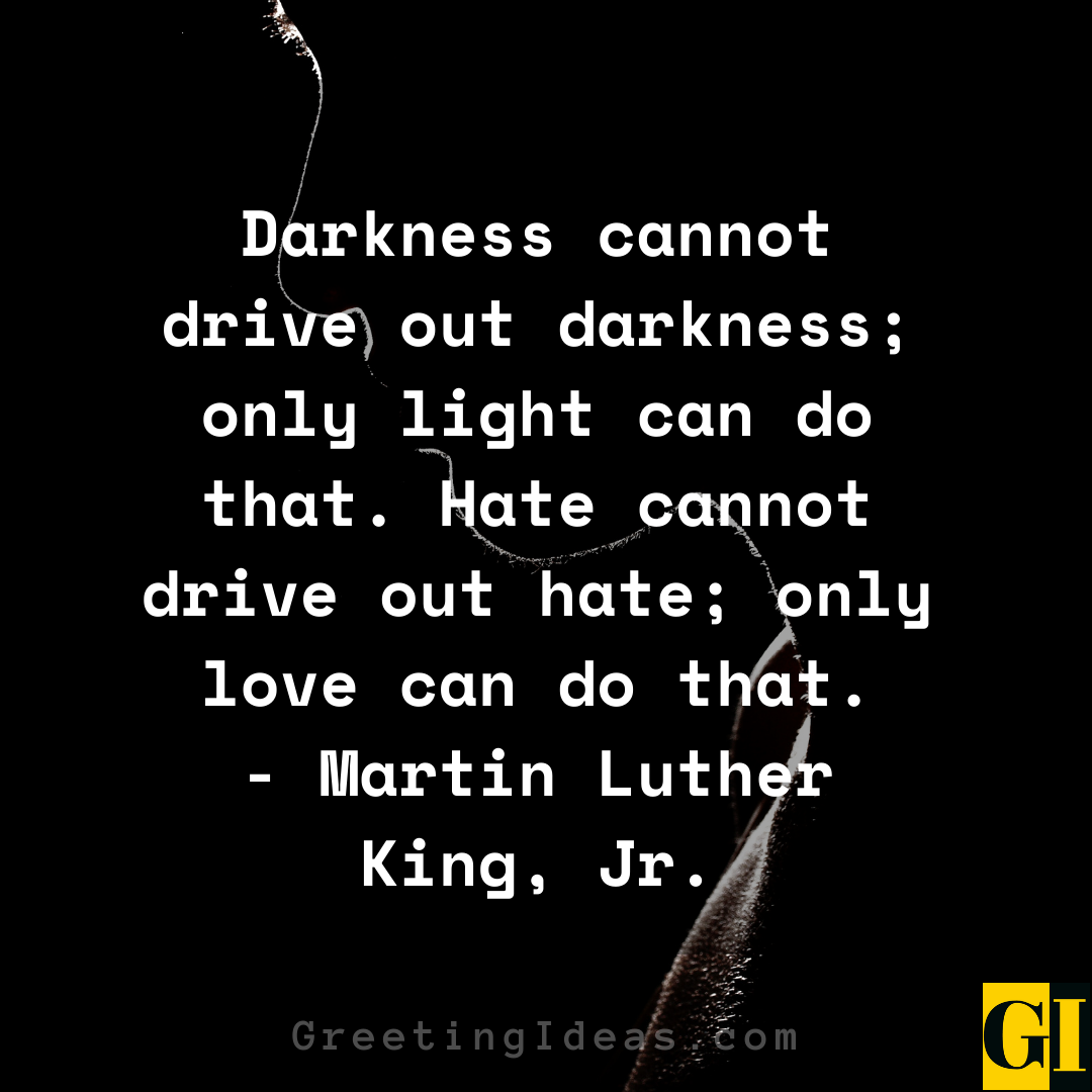 Darkness Quotes Greeting Ideas 2