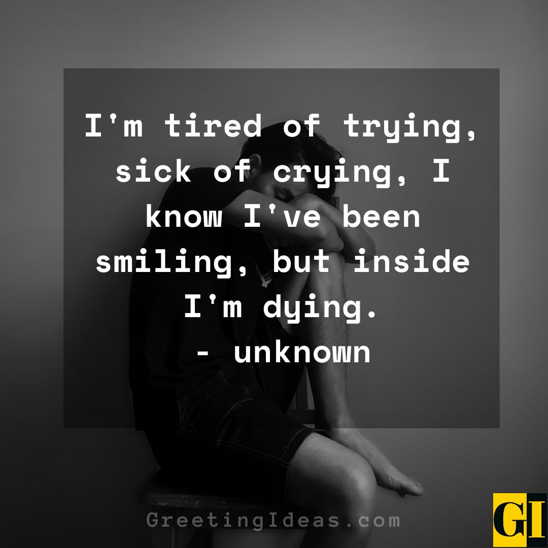 Depressed Quotes Greeting Ideas 8
