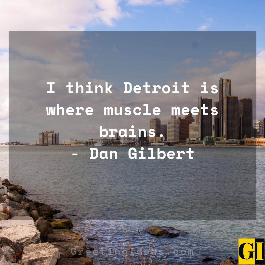 Detroit Quotes Greeting Ideas 2