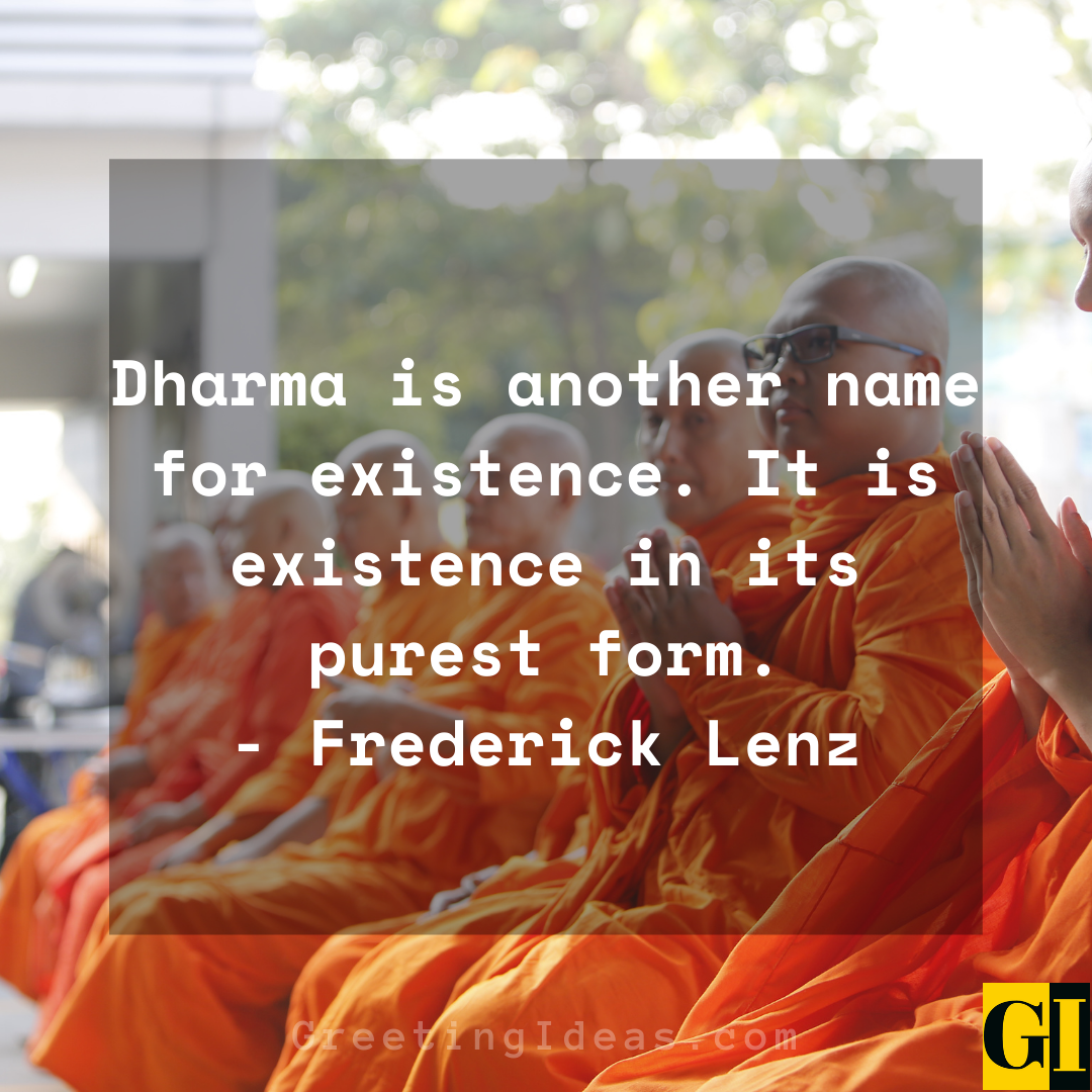 Dharma Quotes Greeting Ideas 4