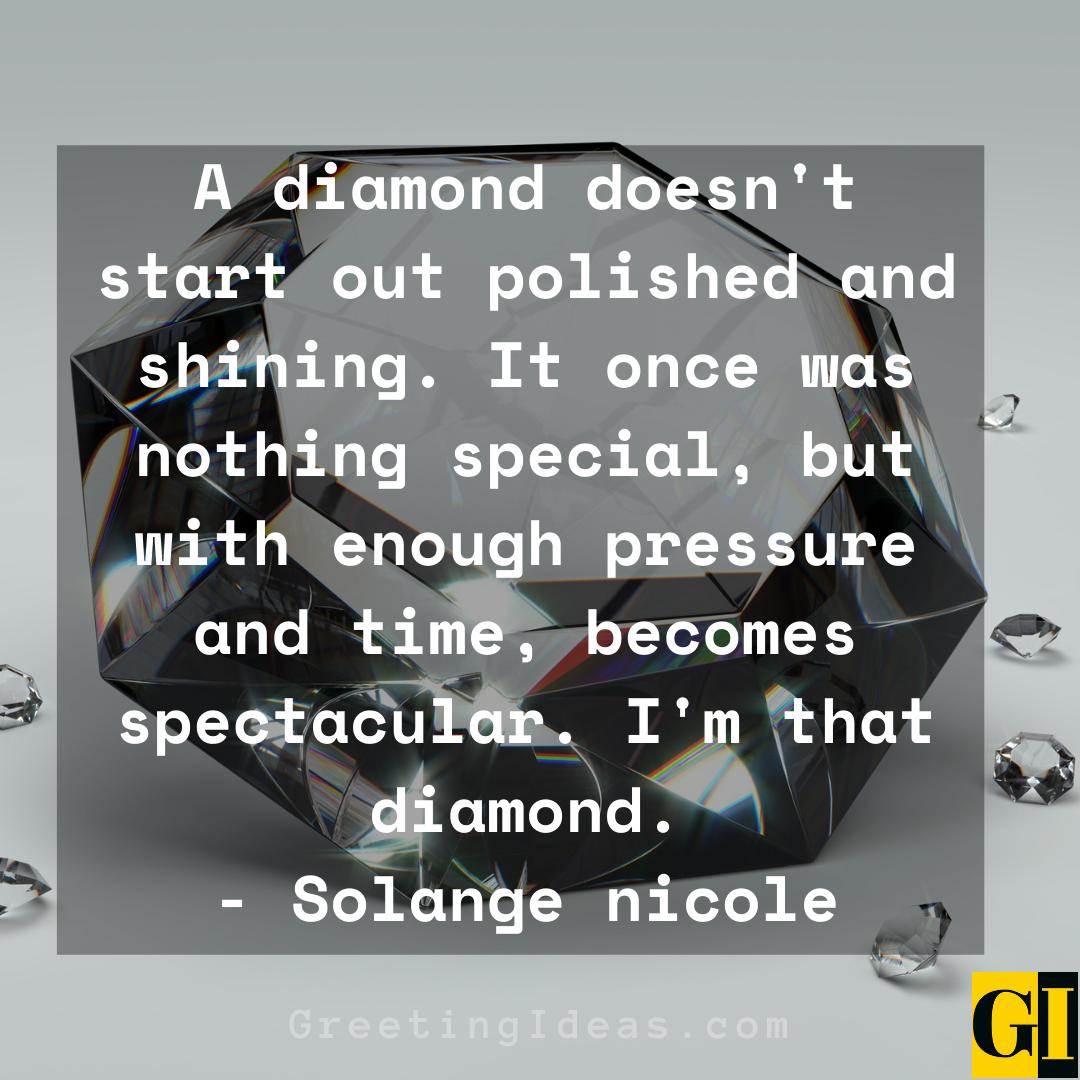 Diamond Quotes Greeting Ideas 2