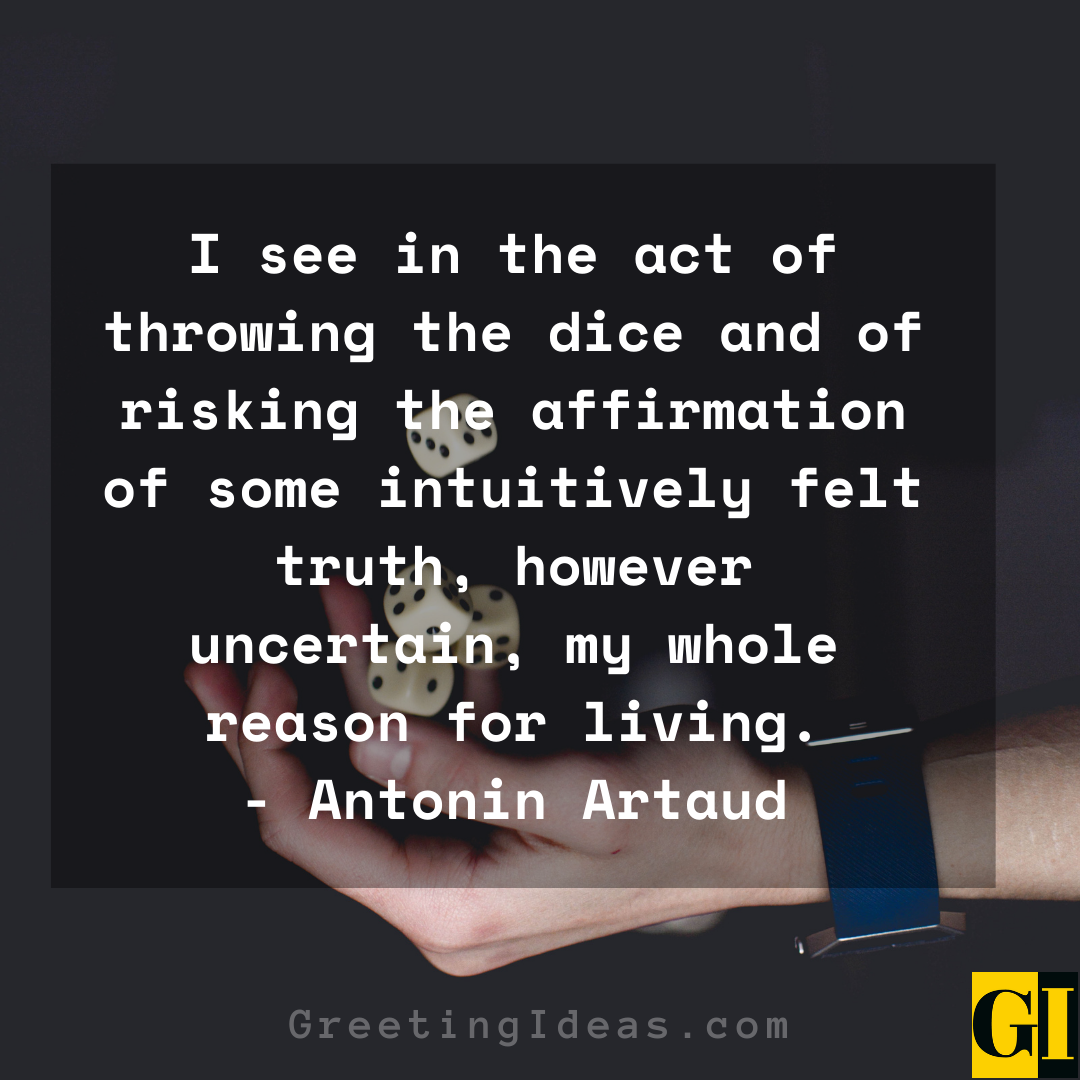 Dice Quotes Greeting Ideas 3