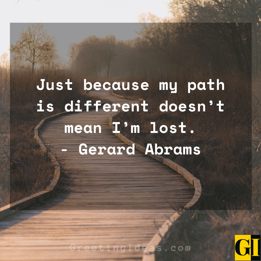 Different Path Quotes Greeting Ideas 1