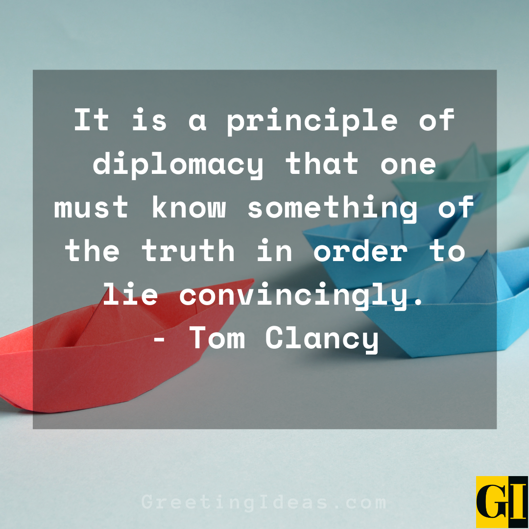 Diplomacy Quotes Greeting Ideas 1