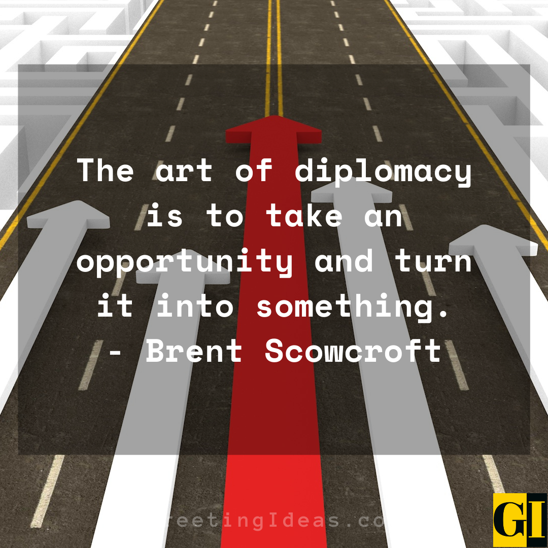 Diplomacy Quotes Greeting Ideas 2