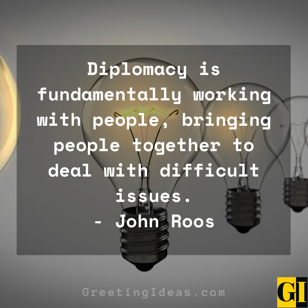 Diplomacy Quotes Greeting Ideas 3