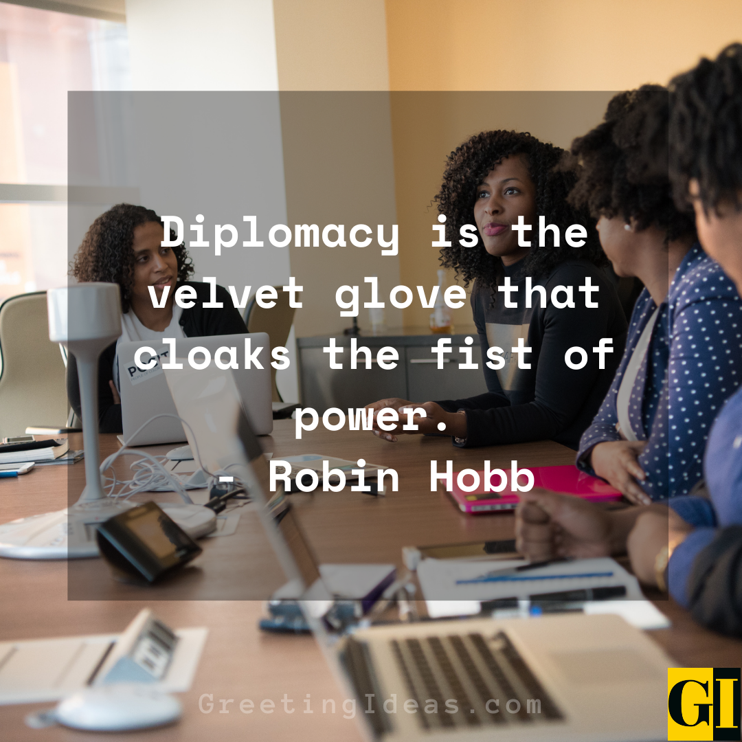 Diplomacy Quotes Greeting Ideas 5