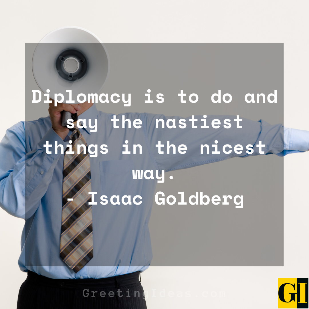 Diplomacy Quotes Greeting Ideas 6