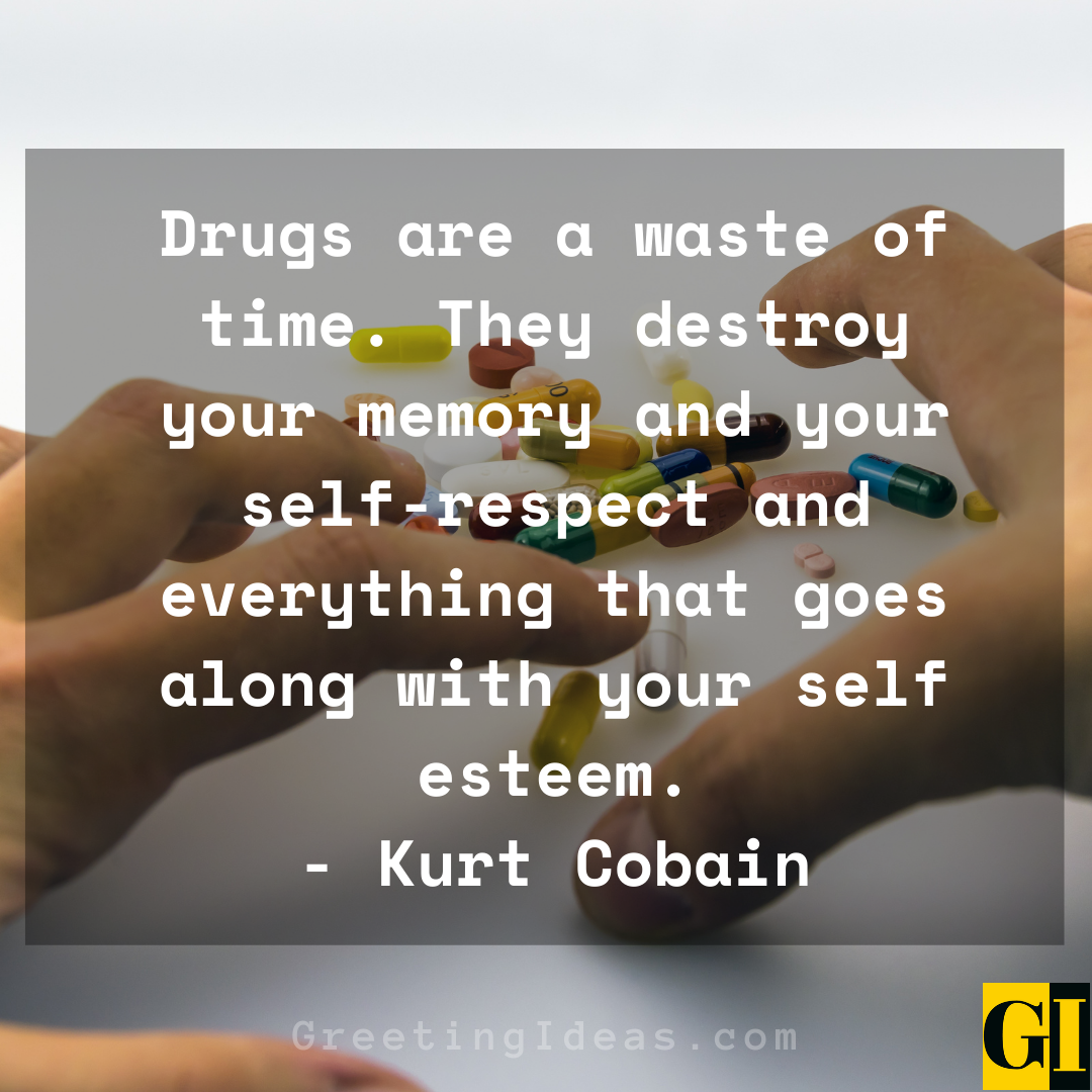 Drug Free Quotes Greeting Ideas 3