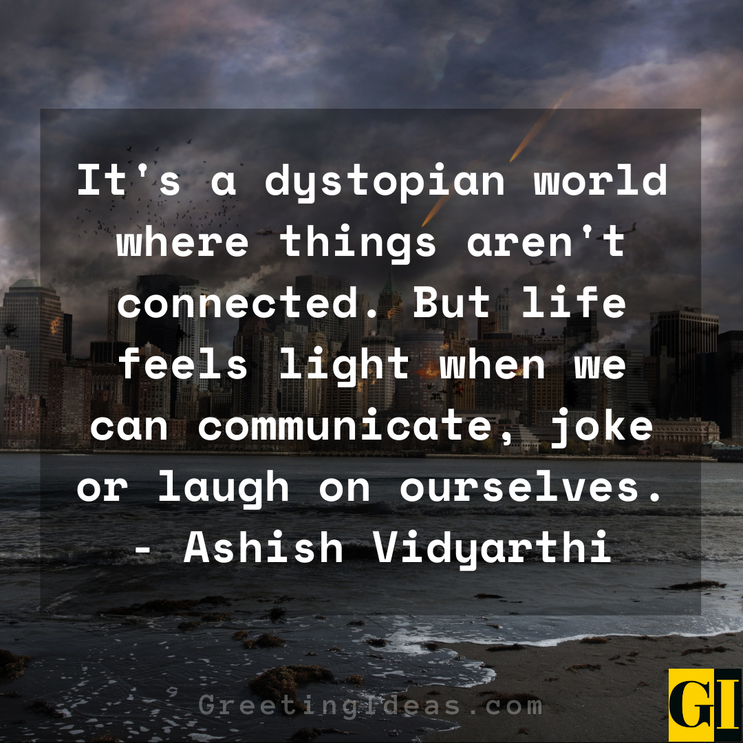 Dystopian Quotes Greeting Ideas 3